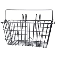 Eleven81 Lift-Off Front Rectangular Handlebar Bike Basket