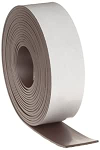 "Flexible Magnet Tape - 1/16"" thick x 1"" wide x 10 feet (1 roll)"