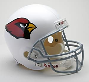 Riddell Arizona Cardinals Deluxe Replica Football Helmet - Arizona Cardinals Full... by Riddell