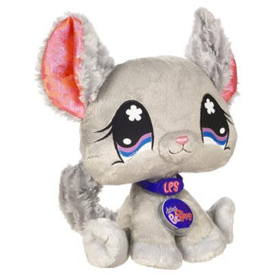 Buy Low Price Hasbro Littlest Pet Shop VIP Virtual Interactive Pet Plush Figure Chinchilla (B001KPKCZ2)