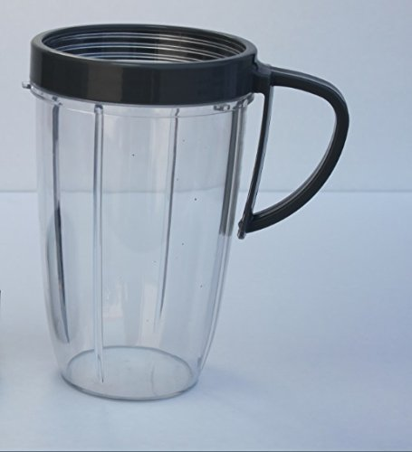 NutriBullet 24 OZ Tall Cup with Handled Lip Ring (Nutra Bullet Accessories compare prices)