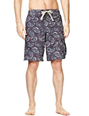 North Coast Paisley Print Swim Shorts