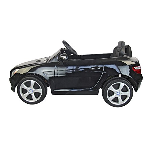 mercedes benz slk class 6v kids electric ride on car with mp3 and remote control black