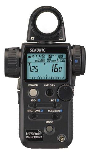 Sekonic Digitalmaster SE L758DR Digital Exposure Meter with Radio Transmitter