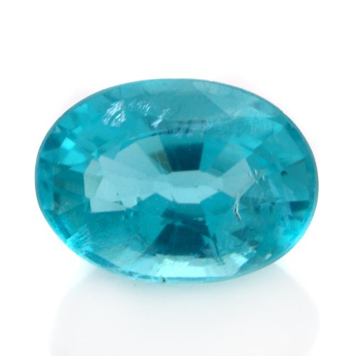 Natural Blue Apatite Loose Gemstone Oval Cut 8*5mm 1.50cts I Grade Amazing