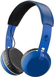 Skullcandy S5GBW-J546 Skullcandy Grind Wireless, On-Ear Headphones, Royal