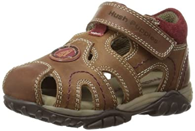 Hush Puppies Ivan, Boys' Sandals, Brown, 4 UK Child
