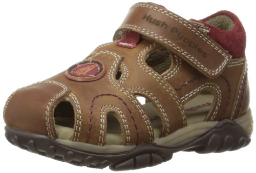 Hush Puppies Ivan, Sandali bambino, Marrone (marrone), 7 UK Child
