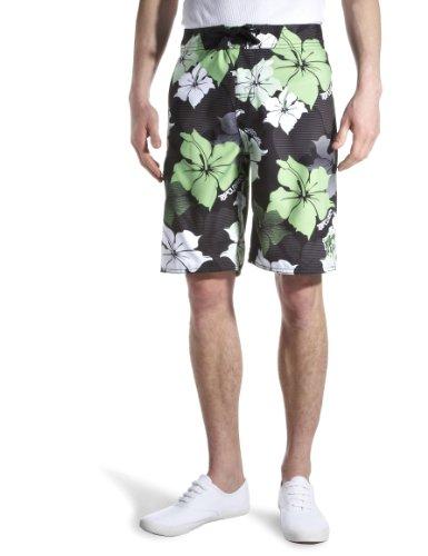 Ripcurl New Horizon Boardshort Men's Swim Shorts Black/Green X Large, size 38