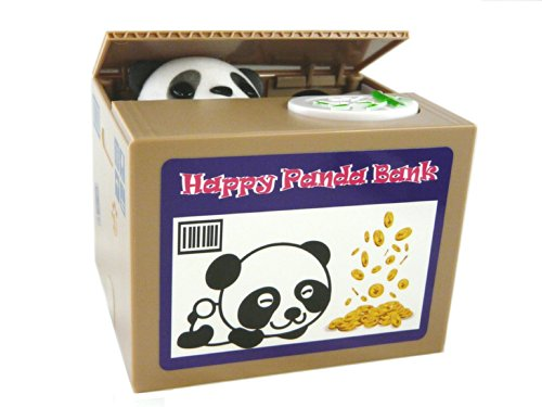 Itazura Stealing Coin Piggy Bank - Happy Panda