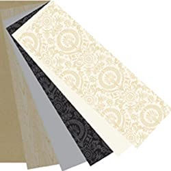 Martha Stewart Crafts Punch Pad, Neutrals, 4 by 12 Inches