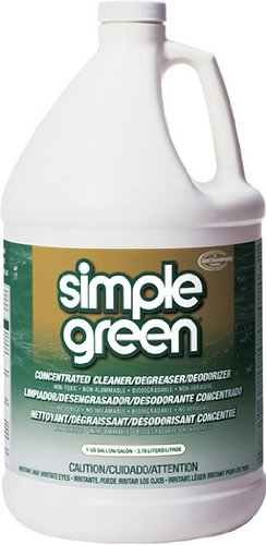 Simple Green SPG13005 Degreaser Cleaner, Deodorizer, 1 Gallon Refill Bottle