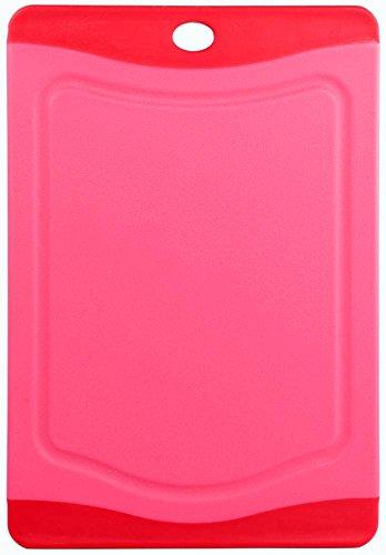 Culinario-Tagliere Microban dotazione, disponibile in diverse dimensioni e colori, Rot, 20,3 x 14 cm