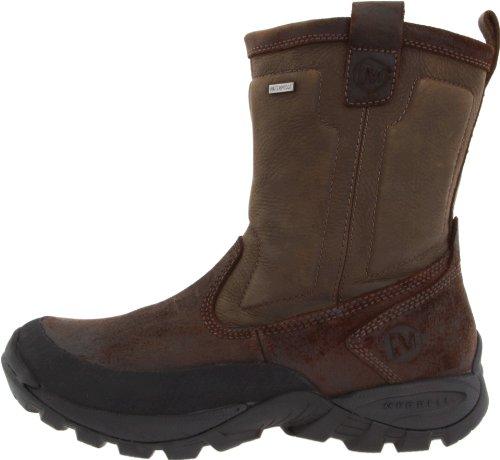USA Merrell Mens Bergenz Waterproof Winter Boot,Brown