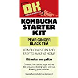 Oregon Kombucha Complete Starter Kit - Pear Ginger Black Tea