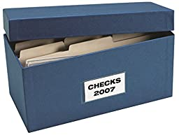 EGP Voucher Check Storage Boxes