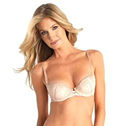 Vassarette Women's Embroidered Demi Underwire Bra