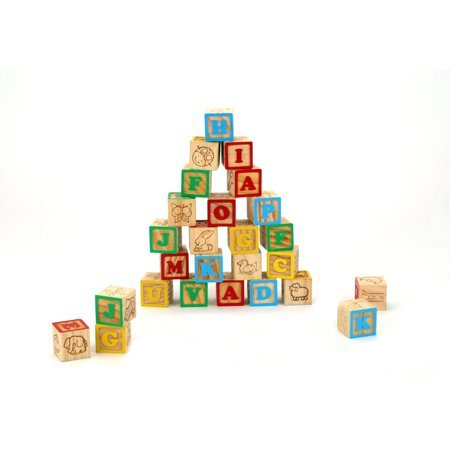 ABC Blocks 30mm - 26 Pieces - 1