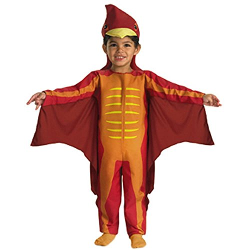 Kid's Toddler Pterodactyl Dinosaur Costume (Size: 2T)