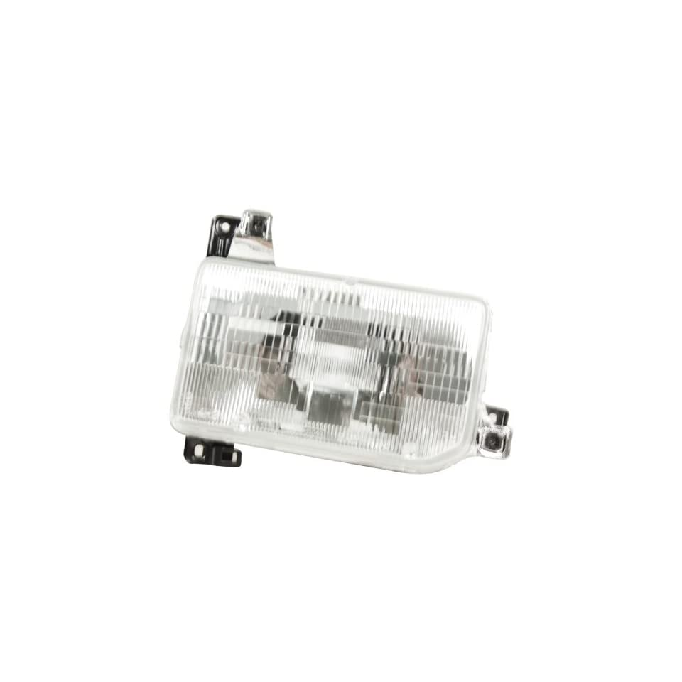OE Replacement Nissan/Datsun Pathfinder/Pickup Passenger Side Headlight Assembly Composite (Partslink Number NI2503104)