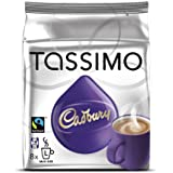 Cadbury Hot Chocolate, 8-Count T-Discs for Tassimo Brewers