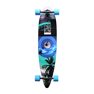 "Long Island 14A Rainbow Palm Longboard complet 9,1"" x 40,15"""
