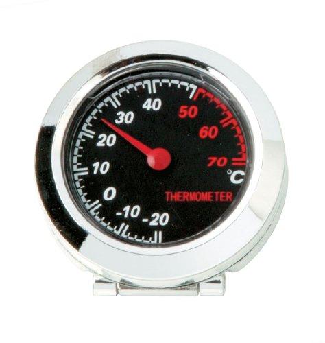 Sumex 1038921 Carplus - Termometro Rotondo Cromato Vintage Style