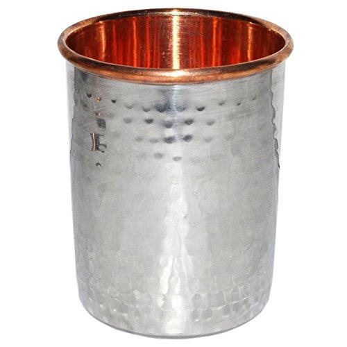 L'eau drinkware Tumbler cuivre inox vaisselle verre à boire