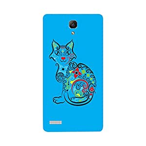 Skintice Designer Back Cover with direct 3D sublimation printing for Redmi Note Prime