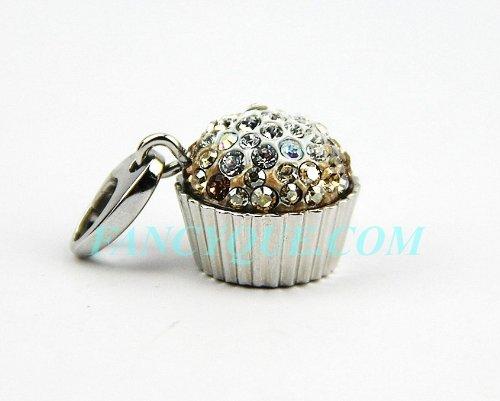 judith-leiber-sweetie-cupcake-gold-swarovski-crystal-charm-18k-gold-pltd-new-box