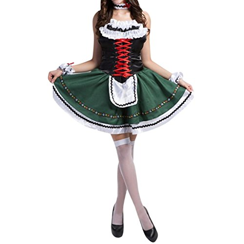 Hee Grand Women's Anime Cosplay French Apron Maid Fancy Dress Costume