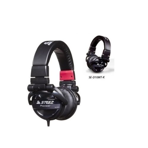 Shop Brand New Pioneer Se-D10Mt-K Steez Dubstep Headphones With Microphone (Black) /Genuine