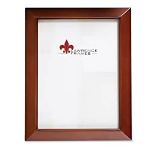 Lawrence Frames Estero Collection, Chestnut Wood 4 by 5 Picture Frame