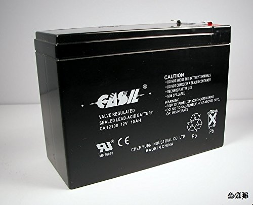 Casil CA12100 12v 10ah for Generac 0G9449 BATTERY