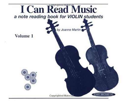 I Can Read Music: A Note Reading Book for Violin Students (Volume 1)