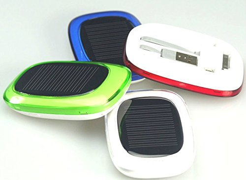 Solar Powered Cell Phone Charger with Integrated Photo