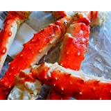 """King Crab Legs """"Merus Sections"""" from Jumbo Size Legs (2 POUNDS)"""