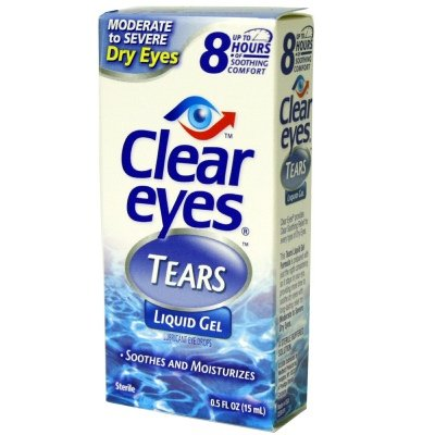 Clear eyes Eye Drops for Dry Eyes .5 fl oz (15 ml)