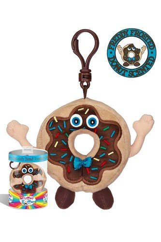 Whiffer Sniffers Freddy Frosted Collectible Backpack Clip