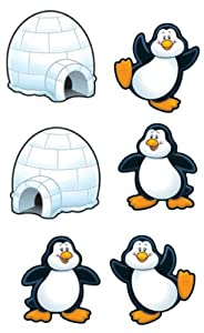 Cut-out Buddies Penguins And Igloos