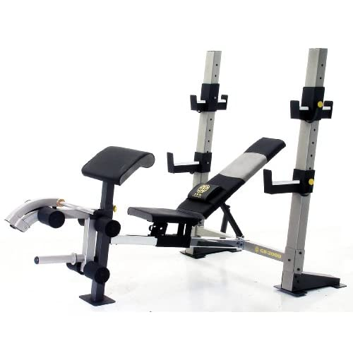 Gold 39 S Gym Gb 2000 Pro Series Olympic Weight Bench Sports Outdoors