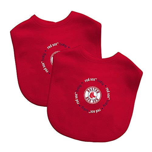 baby-fanatic-team-color-bibs-boston-red-sox-2-count