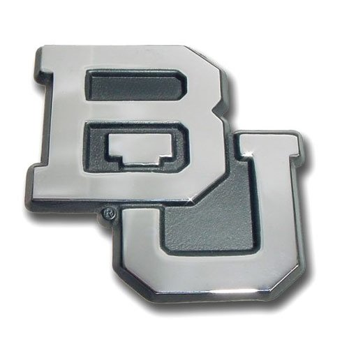 Baylor Bears University Premium Solid Metal Chrome Plated Car Auto Emblem (Baylor Auto Decal compare prices)