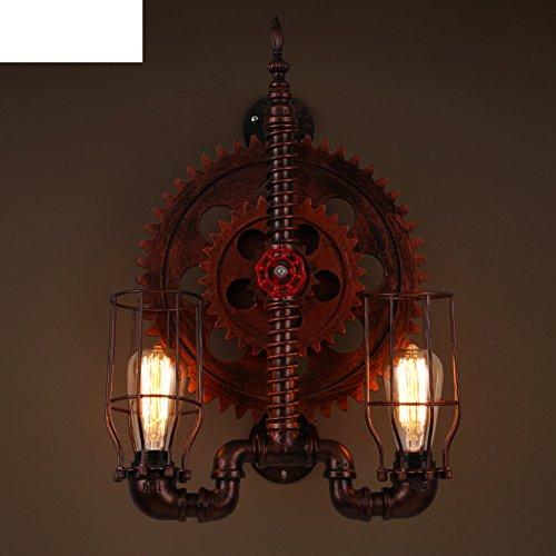 parete creativa/Retro salone camera da letto corridoio luci/ character design lampada da parete-A