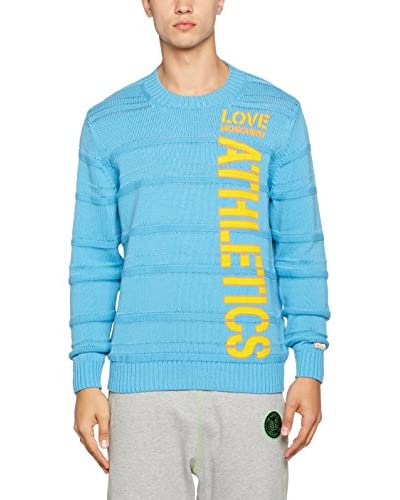 Love Moschino Pullover himmelblau