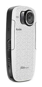 Kodak Zx5 PlaySport Full HD Camcorder (5,1 cm (2 Zoll) Display, SD/SDHC Kartenslot, 5-fach digitaler Zoom, HDMI, bis 3m wasserdicht) weiß