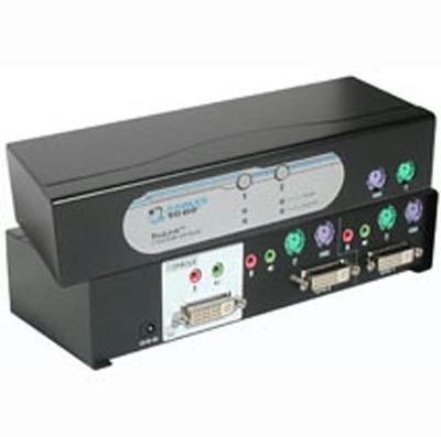 Kvm / Audio Switch - 2 - 1 Local User - External