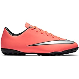 Nike Youth Mercurial Victory V Turf [BRIGHT MANGO] (11.5C)