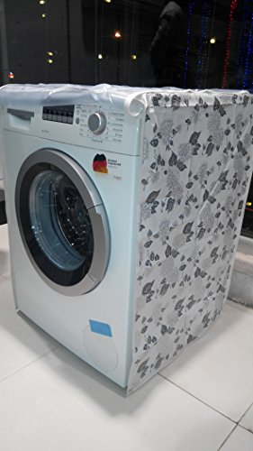 Classic Front Load Washing Machine Cover For Only 6.5Kg ,7Kg,7.5Kg,8Kg Only , Fits Dishwasher Also, Colour And Design May Vary (Assorted)