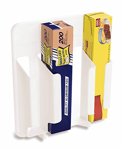 rubbermaid cabinet door mounted kitchen wrap and bag